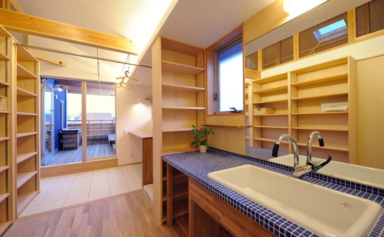 家事動線(洗濯と室内干しを考える)